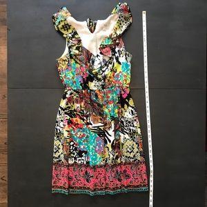 ECI patterned dress